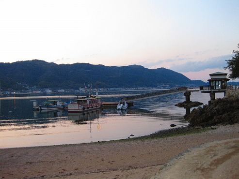 広島県 鞆の浦/仙酔島 渡船乗り場