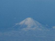 広島観光/広島空港⇒羽田空港 富士山