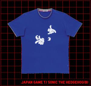 2009年6月8日発売!ソニック×ユニクロTシャツ 第二弾
