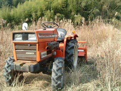 トラクターの写真