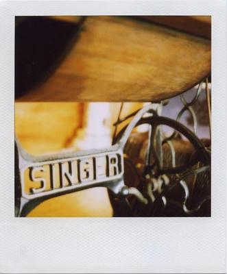 シンガーミシンの写真
