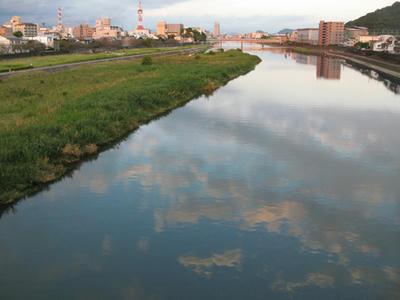 鏡川の写真