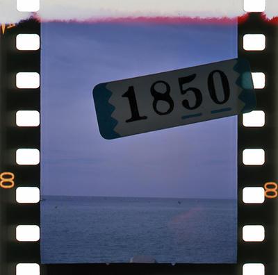 フィルムの1枚目の写真