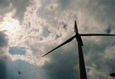 風車の写真