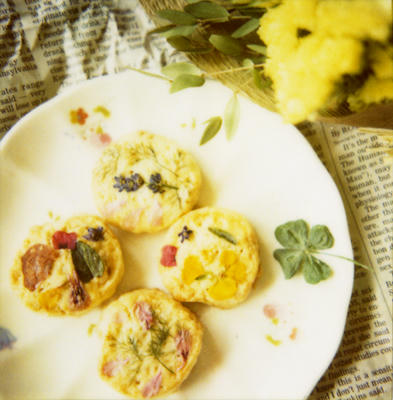 お花畑クッキー