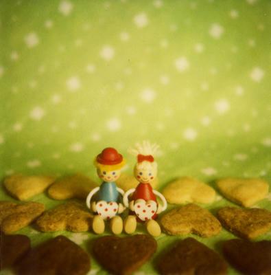 ハートクッキーの写真