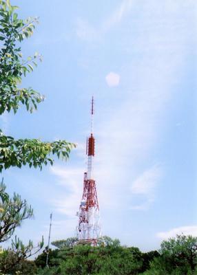 テレビ塔の写真