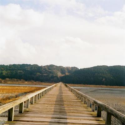 蓬莱橋の写真