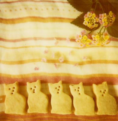猫クッキーの写真