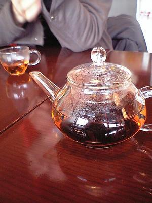 中国茶再び