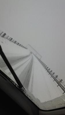 冬の北陸道