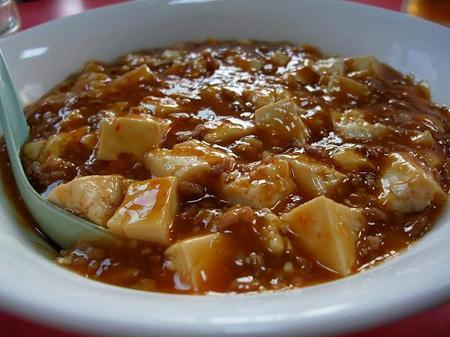 龍苑 麻婆豆腐