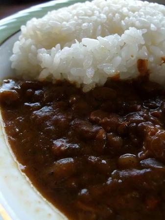 納豆カレー(賞味期限切れ)