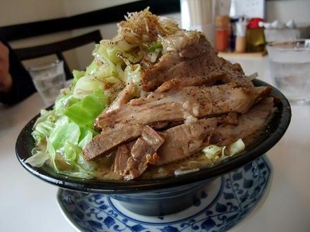 麺屋 一心 野菜らーめん ミニ (にんにく入り)