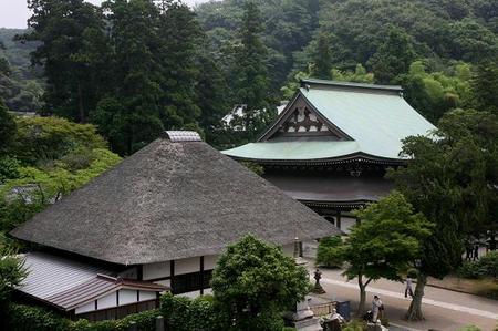 山の上から円覚寺