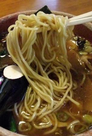 あってり麺 麺