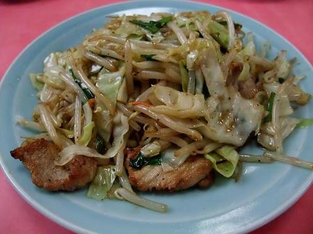 龍苑 野菜炒め