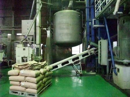 大豆を蒸す器械