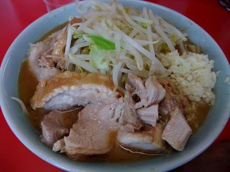 ドン-キタモト ラーメン小+豚+ニンニク