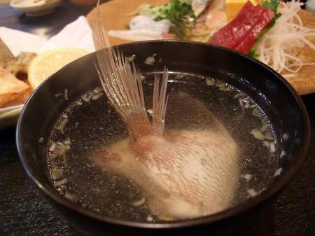 寿司光 鯛のうしお汁