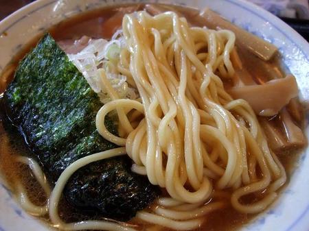 相模原 大勝軒 ラーメンの麺