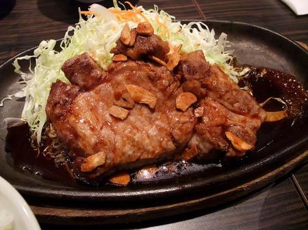 豚家 トンテキ定食(250g)