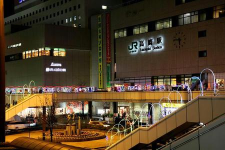 たかさき光のページェント2009! 高崎駅