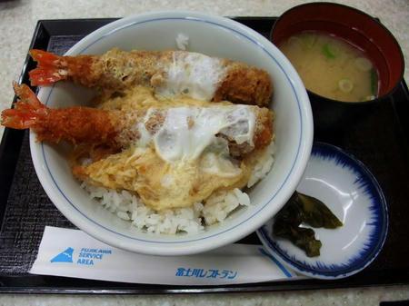 富士川SA(下り) エビフライ丼