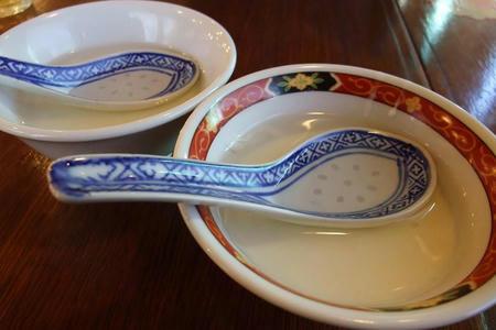 中国ラーメン 揚州商人 ランチセットの杏仁豆腐