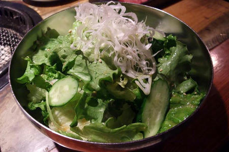 牛角 チョレギサラダ