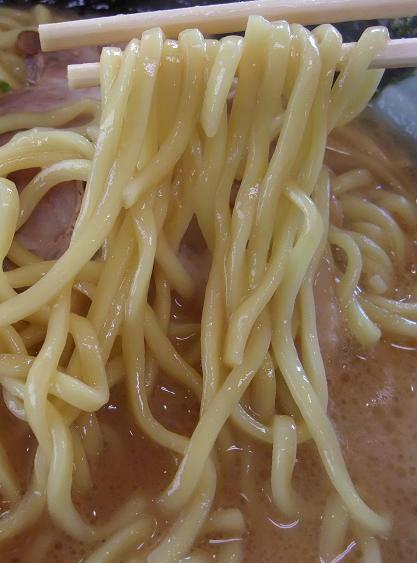 横浜家系ラーメン 湘家 江木店 麺