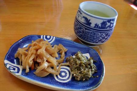 わたりや お茶と前菜