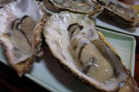 樹(たちき) 生牡蠣