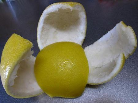 パール柑 皮