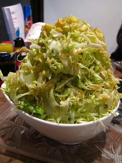 焼肉食堂 かっちゃんち サラダ(小)