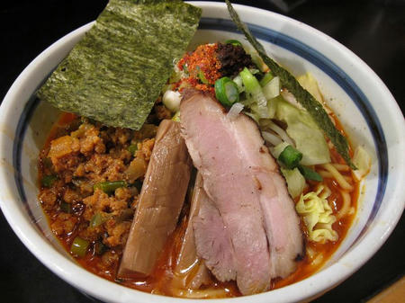 麺家 うえだ 辛特濃魚介豚骨ラーメン(ライト)