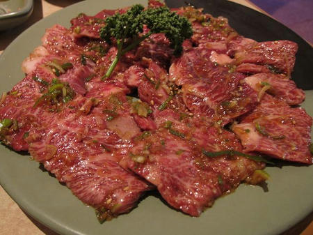 焼肉よねやま 黒毛和牛ハラミ