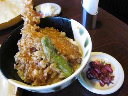 麺処酒処 ふる川 暮六つ ミニ海老天丼