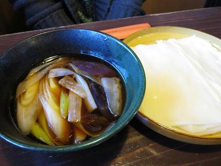 麺処酒処 ふる川 暮六つ 肉なす南蛮