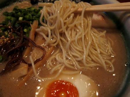 食彩麺酒房 響 響らぁめんの麺