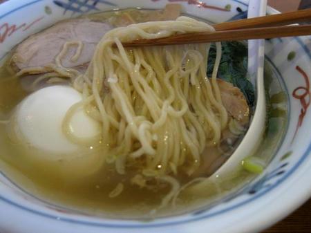 地鶏ラーメン自給屋 細麺