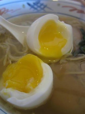 地鶏ラーメン自給屋 味付け卵