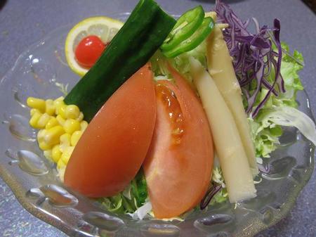 焼肉 燦 コンビネーションサラダ