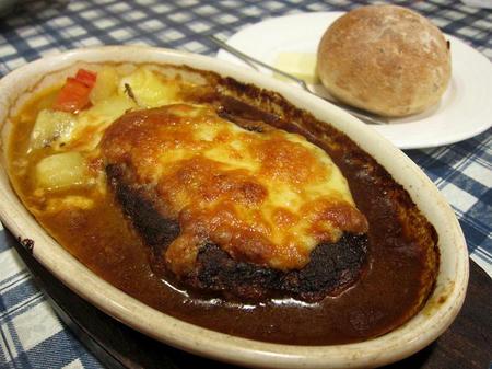 レストラン ピック スイス風ハンバーグ