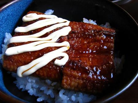 ウナマヨ丼