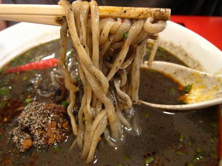 老虎麺飯城 縮れ麺