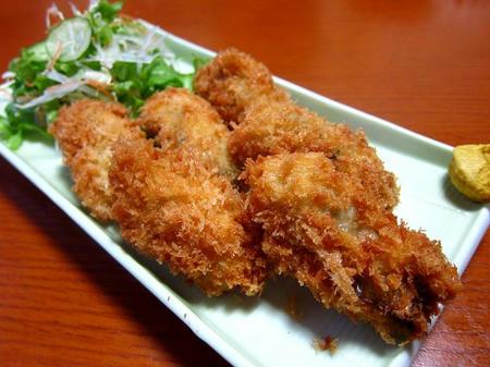 たちき 牡蠣フライ