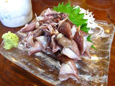 お食事処 樹(たちき) ボイルホタルイカ