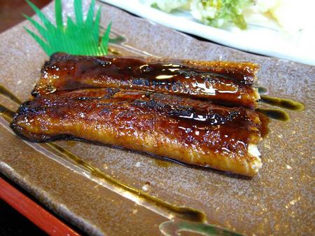お食事処 樹(たちき) たちき定食の鰻蒲焼