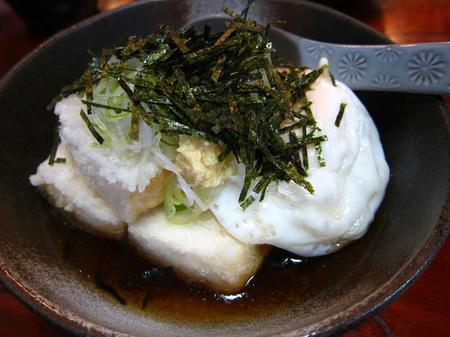 お食事処 樹(たちき) 揚げ出し豆腐